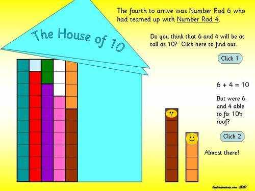 Number Bonds to 10 PowerPoint (Includes animation, sounds and action ...