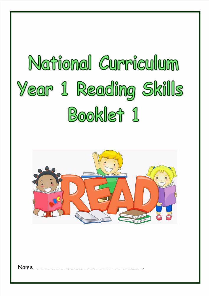 National Curriculum, Year 1, Reading Skills Booklet 1