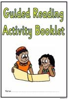Guided Reading Activity Booklet for Lower Key Stage 2