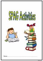 KS2 SPAG activity booklet 5. Another fabulous set of spelling, punctuation and grammar activities.