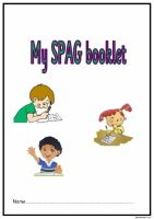KS2 SPAG activity booklet 4.  A superb set of spelling, punctuation and grammar activities.
