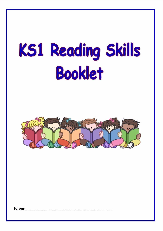 New KS1 Reading Skills Booklet
