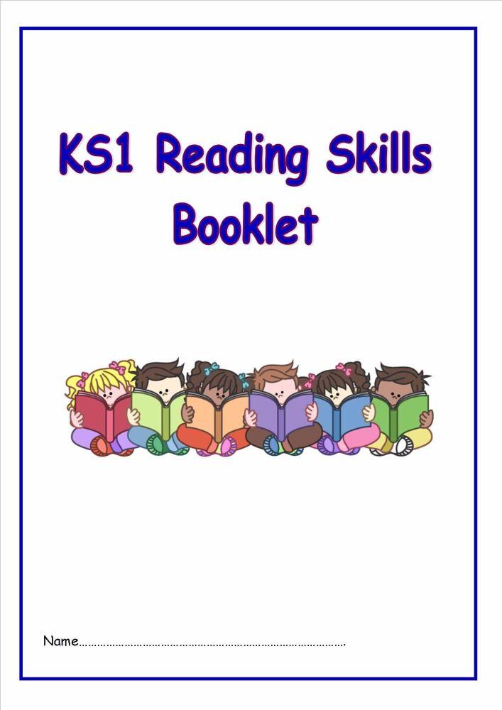 New KS1 Reading Skills Booklet