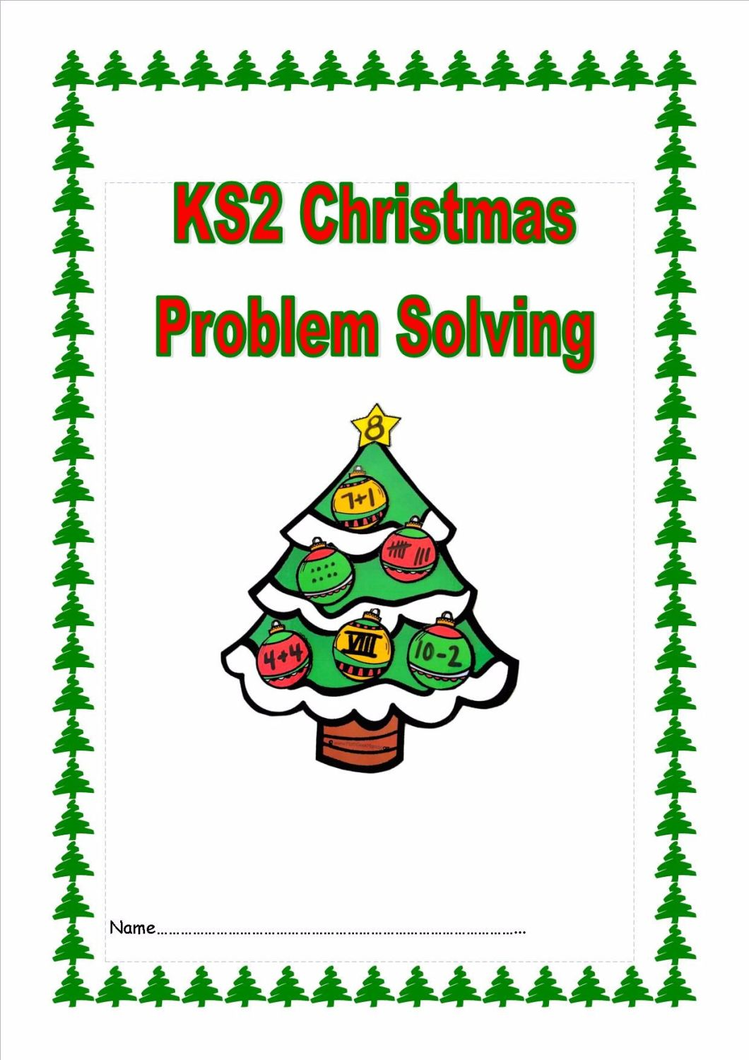 KS2 Christmas Problem Solving Booklet