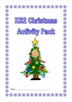 KS2 Christmas Activity Pack