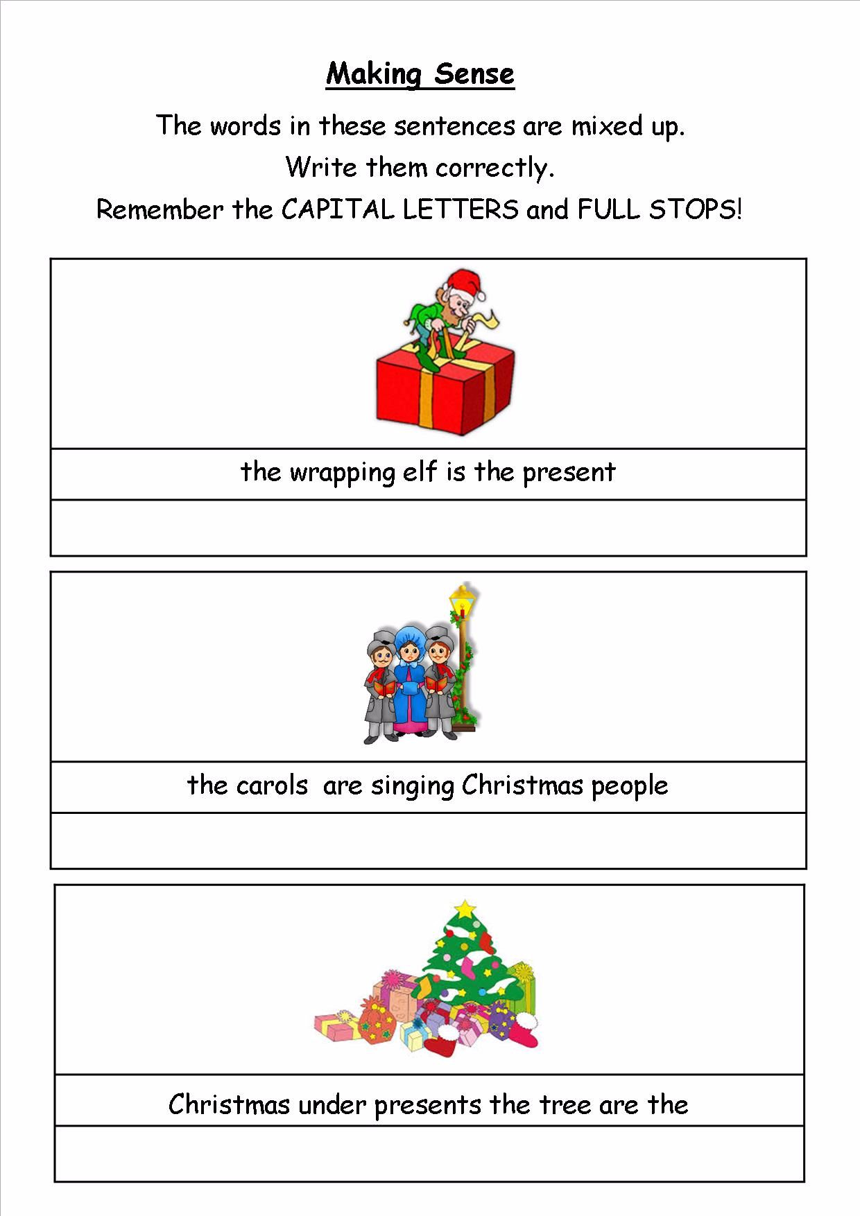 KS1 Christmas SPAG activity booklet 2  A fabulous set of spelling,  punctuation and grammar activities