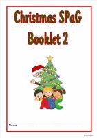 KS1 Christmas SPAG activity booklet 2. A fabulous set of spelling, punctuation and grammar activities.