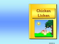 Chicken Licken Story Pack