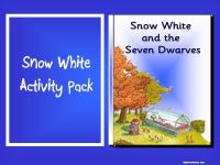 Combined Snow White Story Pack and Activity Pack