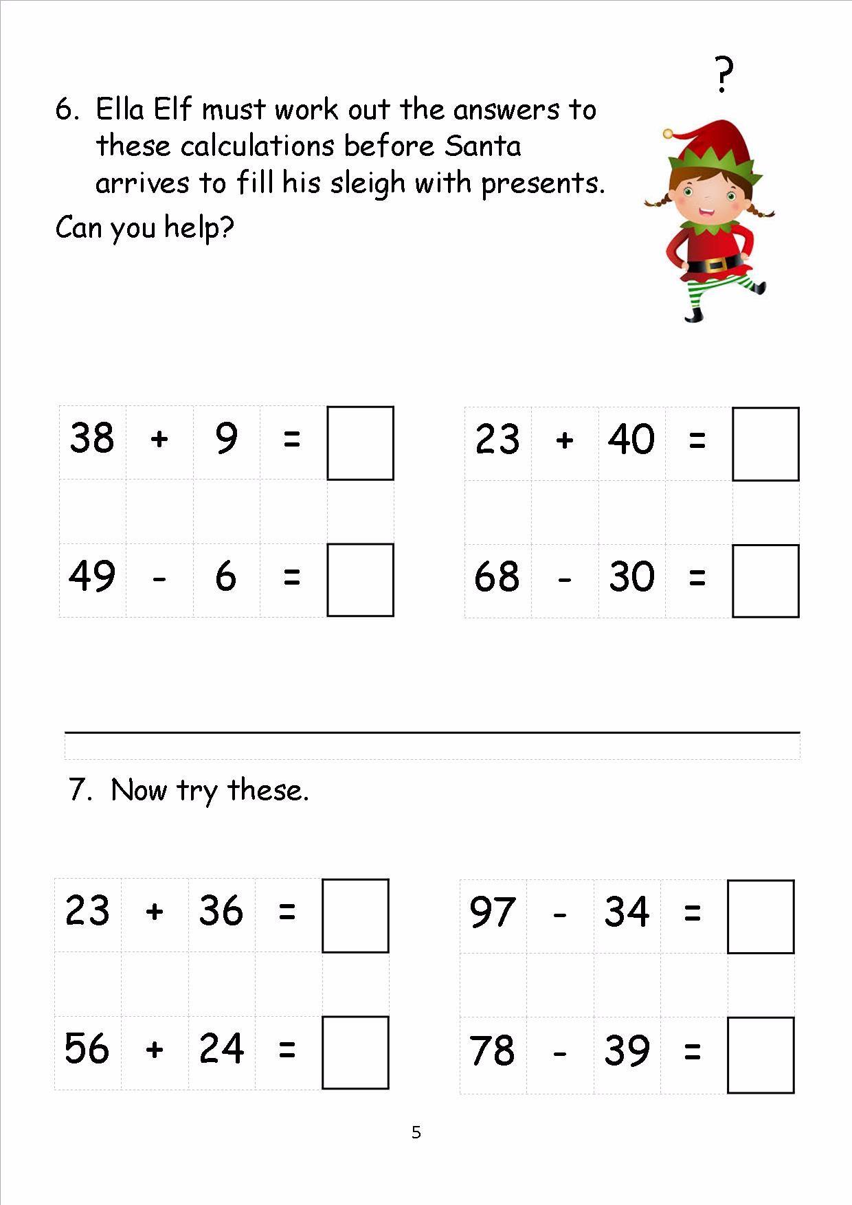 EYFS, KS1,KS2, SEN, Christmas maths, sats, worksheets ...