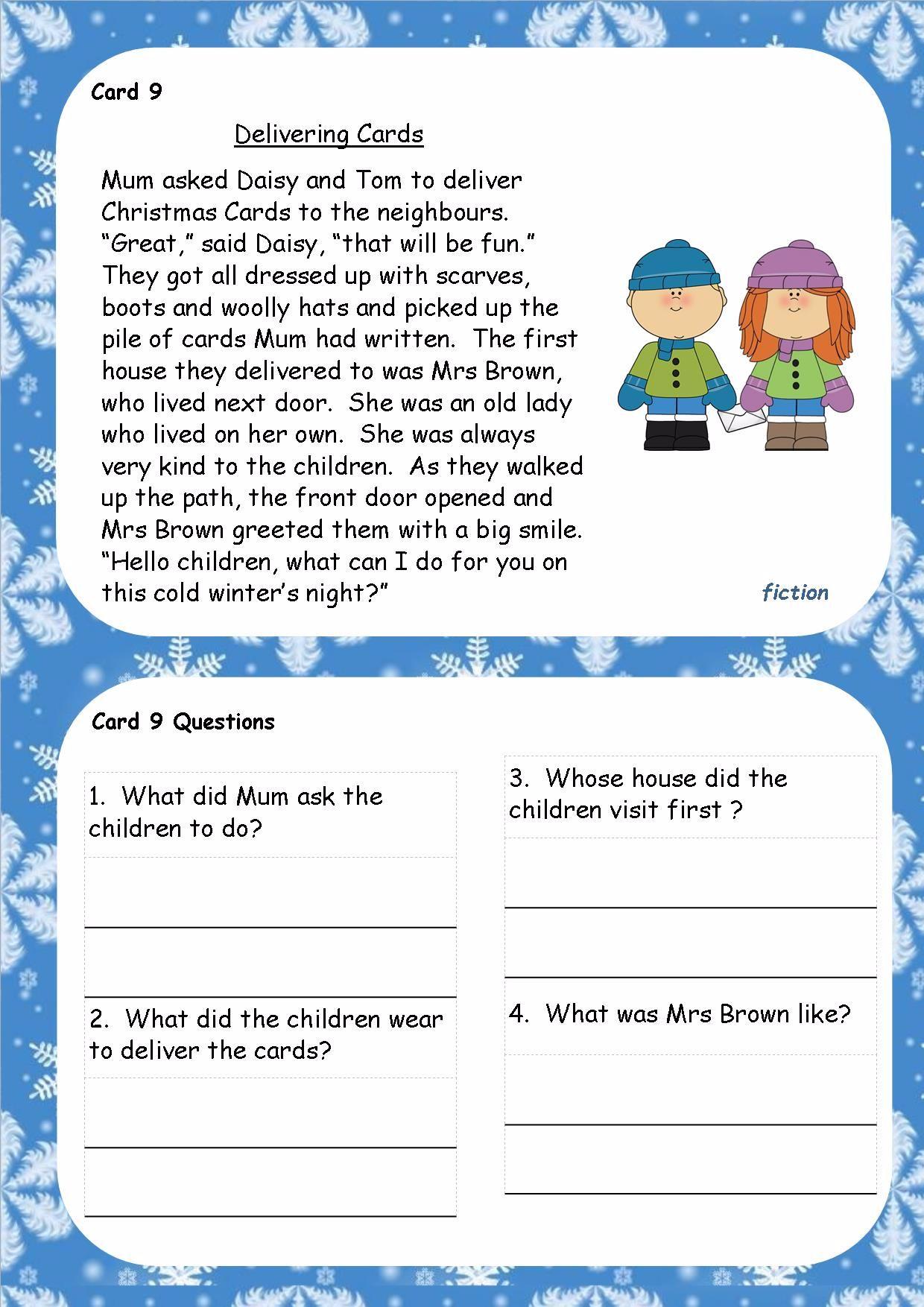 Ks1 Ks2 Sen Ipc Christmas Spag Activity Booklets Guided Reading Writing Spelling Punctuation Grammar English Reading comprehension christmas ks2