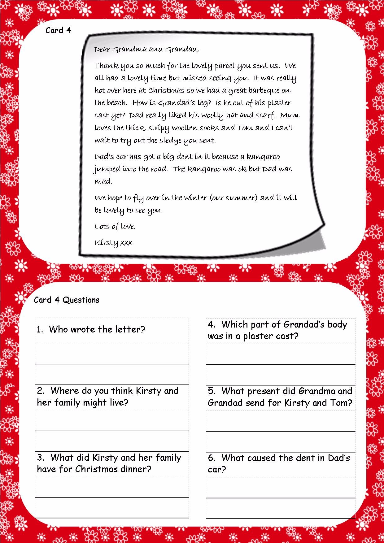 Christmas Is Coming Reading Comprehension Christmas Reading Comprehension Christmas Reading Christmas Worksheets