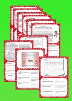 LKS2 Christmas Reading Comprehension Cards