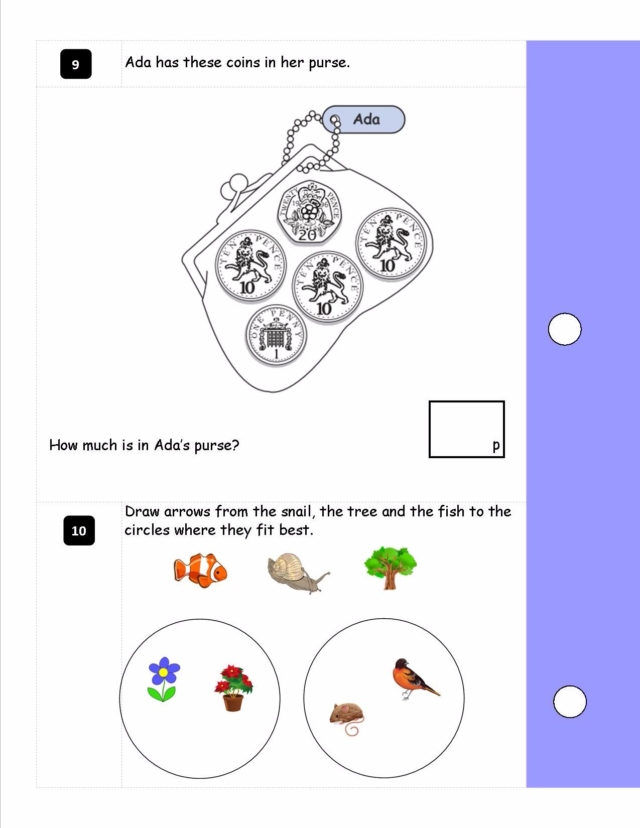 ks1  year 2  sats style reasoning booklet made with new