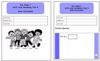 New! KS1, Year 2, SATs style Reasoning and Arithmetic Combined Pack 3 (New Curriculum)