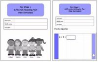 KS1, Year 2, SATs style Reasoning and Arithmetic combined pack (New Curriculum)