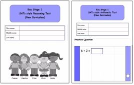 KS1, Year 2, SATs style Reasoning and Arithmetic combined pack (New Curricu