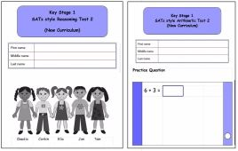 KS1, Year 2, SATs style Reasoning and Arithmetic Combined Pack 2 (New Curri
