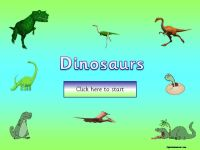Dinosaurs Topic Pack