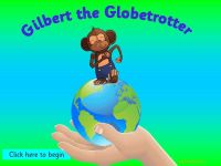 Gilbert the Globetrotting Monkey goes on African Safari - Topic Pack