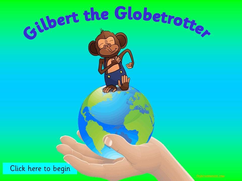 Gilbert the Globetrotting Monkey goes on African Safari - Topic Pack