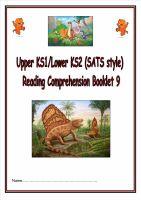 KS1/LKS2 SATs style reading comprehension booklet based on Dinosaurs (9).