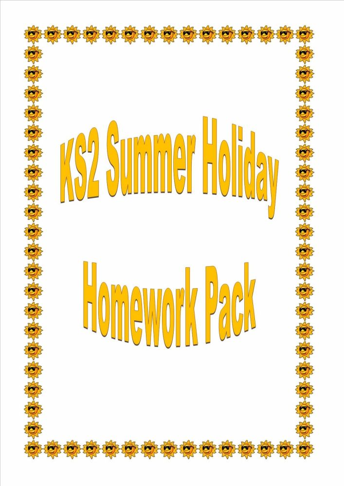 KS2 Summer Holiday Activity/Homework Booklet