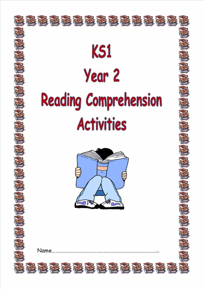 NEW!  KS1, Year 2 Reading Comprehension Booklet