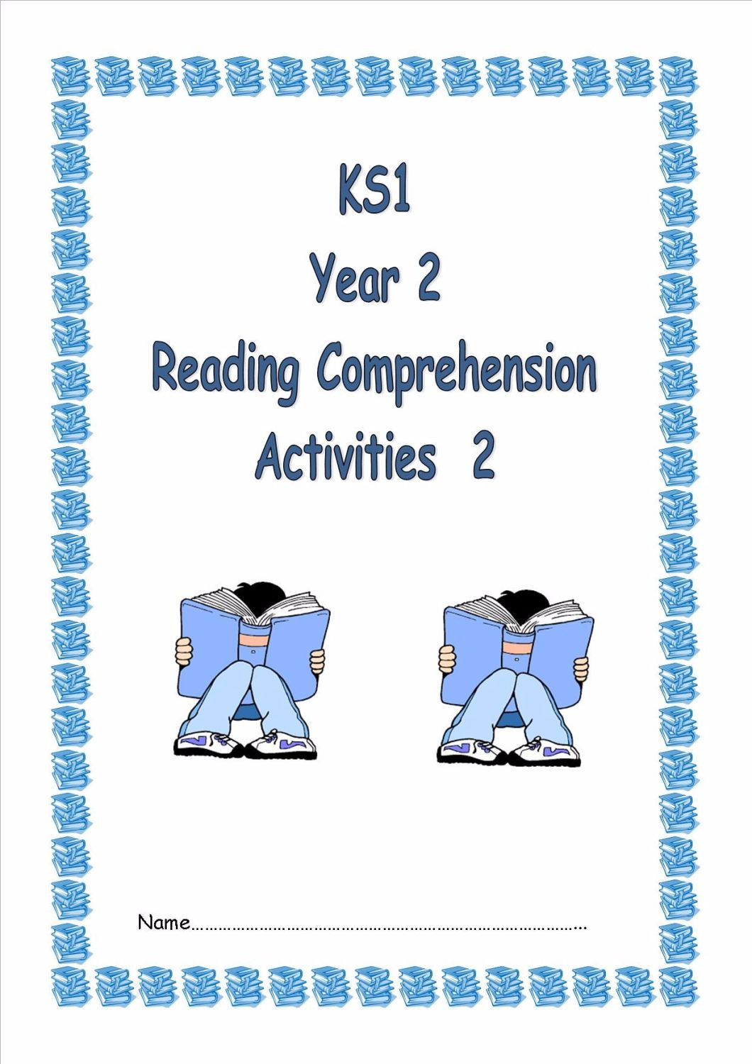 KS1, Year 2 Reading Comprehension Booklet