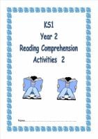 Another NEW KS1, Year 2 Reading Comprehension Booklet