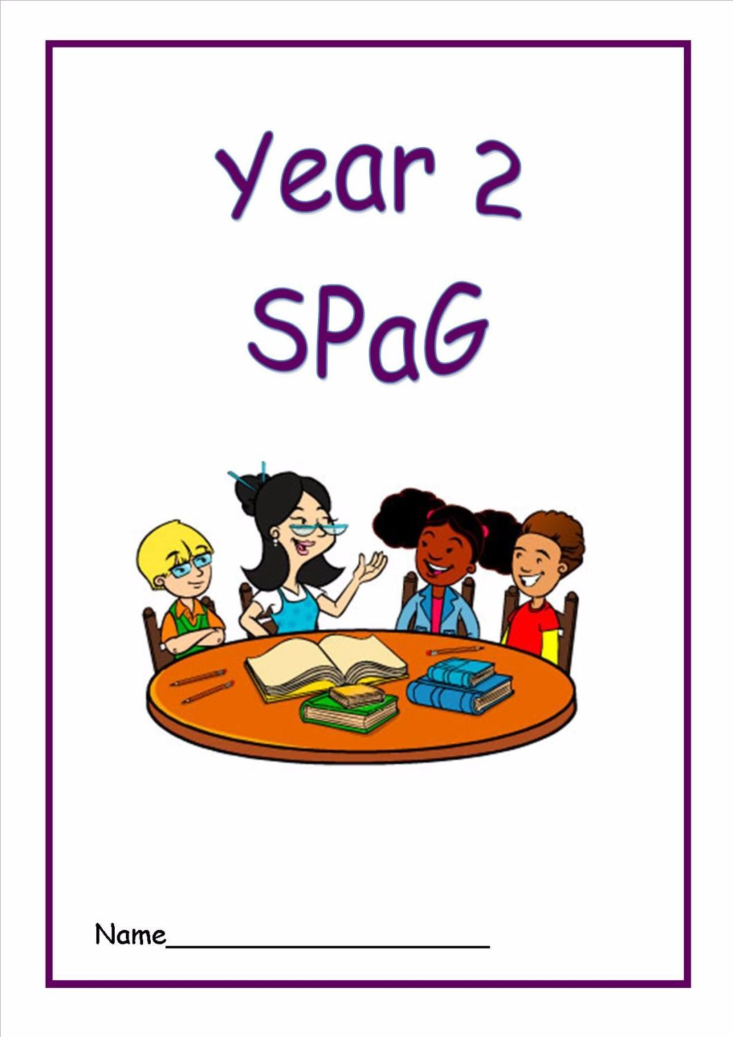 Year 2 SPaG Activity Booklet- in line with New Curriculum requirements.