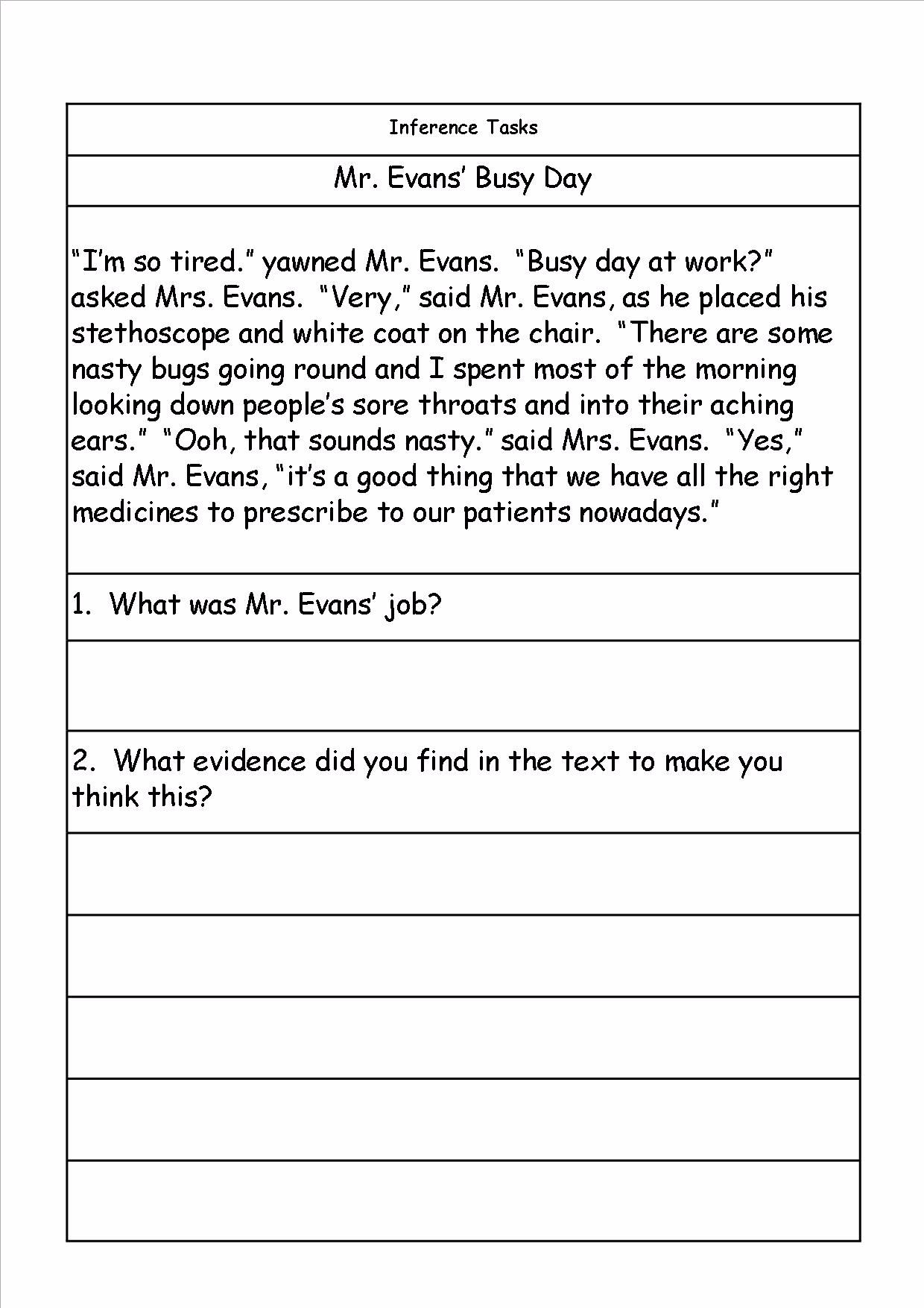 KS1, Inference, Deduction, Problem Solving and homework ...
