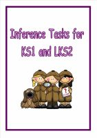 Inference Tasks for Year 2/3 (Great for gathering evidence)