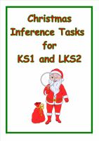 Christmas Inference Tasks for Year 2/3 (Great for gathering evidence)