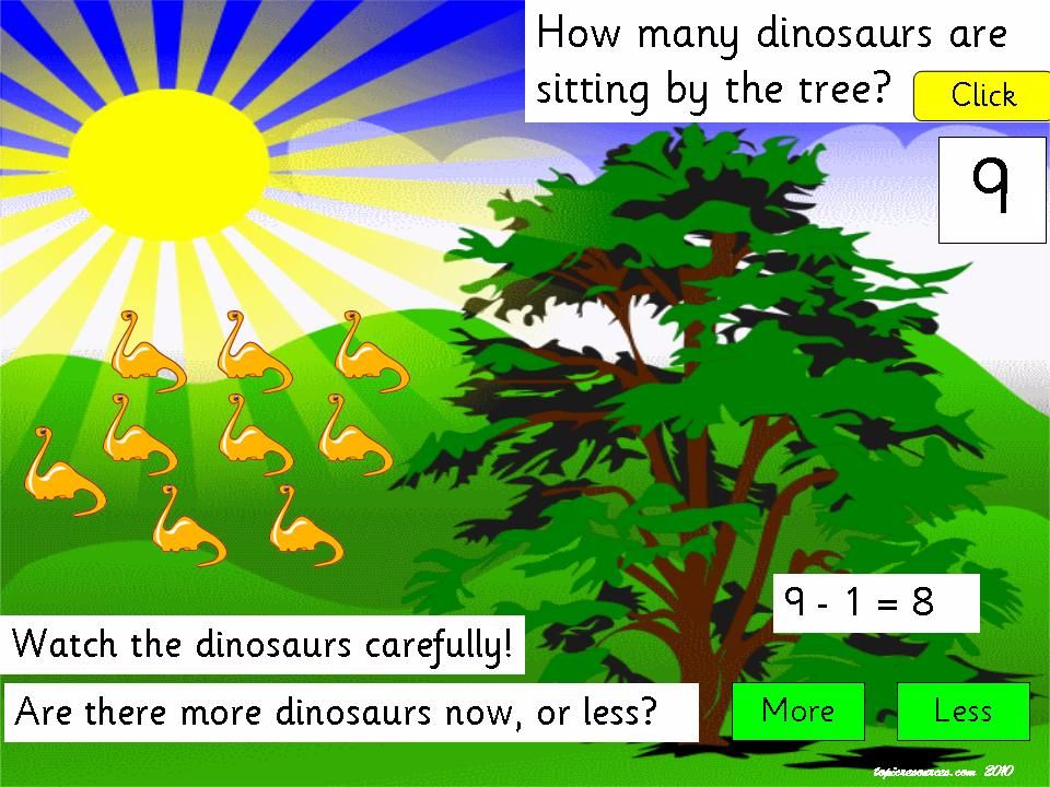 Counting with Dinosaurs Package