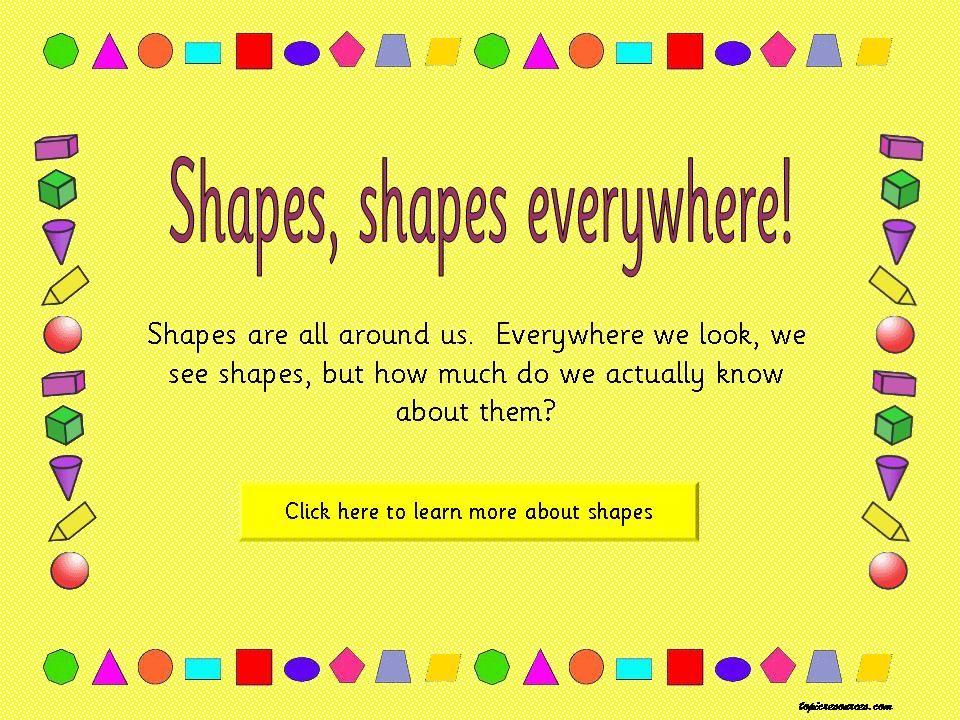 Shape Topic
