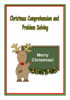 New!  Christmas Comprehension and Problem Solving for KS2