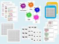 Year 1 Maths Bundle (includes reasoning, problem solving, classroom resources and display materials).