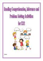 Reading Comprehension, Inference,Problem Solving/Homework Activities for KS2 children