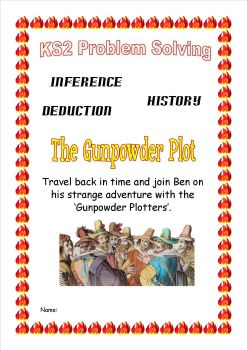 Guy Fawkes time travel KS2 problem solving1
