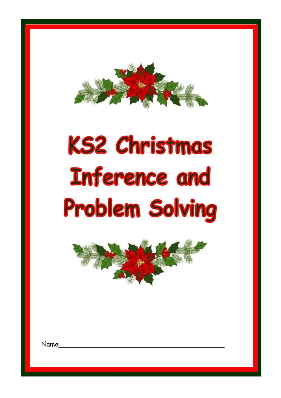 KS2 Christmas Problem Solving Booklet