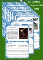 KS1 Christmas Reading Comprehension Cards