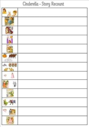 Numbers 1 20 Worksheets together with Cinderella Sequencing Worksheet ...