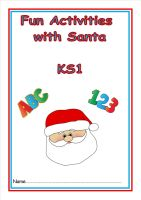 New KS1, Fun with Santa activity booklet