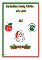 New KS2, Problem Solving with Santa activity booklet.