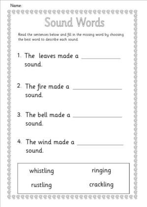Hearing Worksheets1