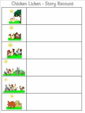 Picture+Sequencing+for+Storytelling+Worksheets Picture Sequencing for ...