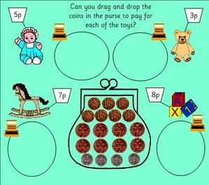 money homework ks1