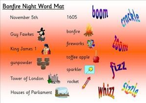 Bonfire Night, EYFS teaching resources, KS1, topic resources ,free teaching resources, SEN, foundation stage, early years, powerpoints, interactive, key stage 1, year 1, worksheets, labels, games, Fireworks, Guy Fawkes, November 5th, fireworks