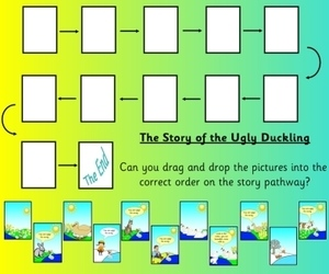 The Ugly Duckling, children's stories, EYFS, KS1, IPC, topic resources ,free resources, SEN, foundation stage, early years, powerpoints, recount frame, interactive, key stage 1, year 1, worksheets, labels, games, Early Years Foundation Stage